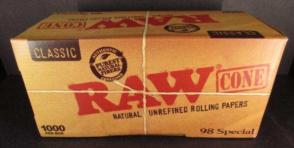 98' Special RAW Cones - 1000CT