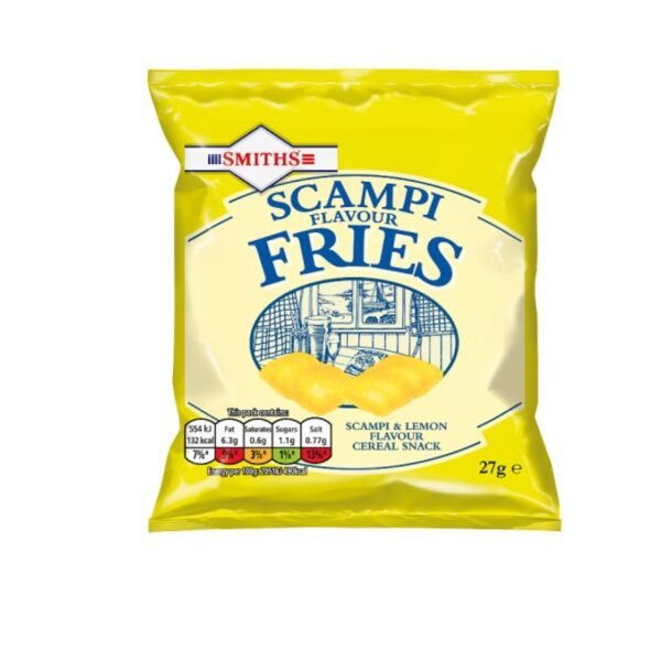 U.K Smiths Scampi Fries